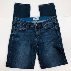 PAIGE Blue Skinny Jeans Size 28